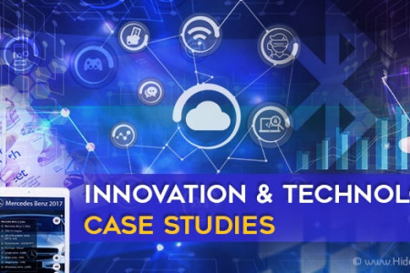 Innovation and Technology Case Studies Infographic