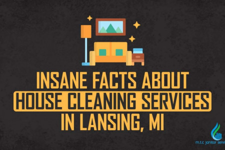 Insane Facts About House Cleaning Services In Lansing MI Infographic