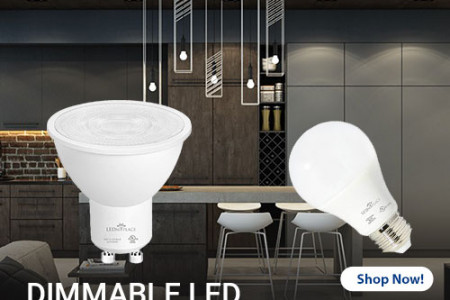 Install Dimmable LED Light Bulbs and Save On Electricity Bills Infographic
