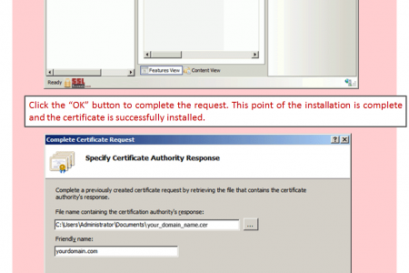 Installing an SSL Certificate on IIS – 6 Easy Steps Tutorial [Infographic]  Infographic