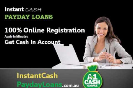 Instant Cash Payday Loans - Borrow Cash Suddenly Before Payday Infographic