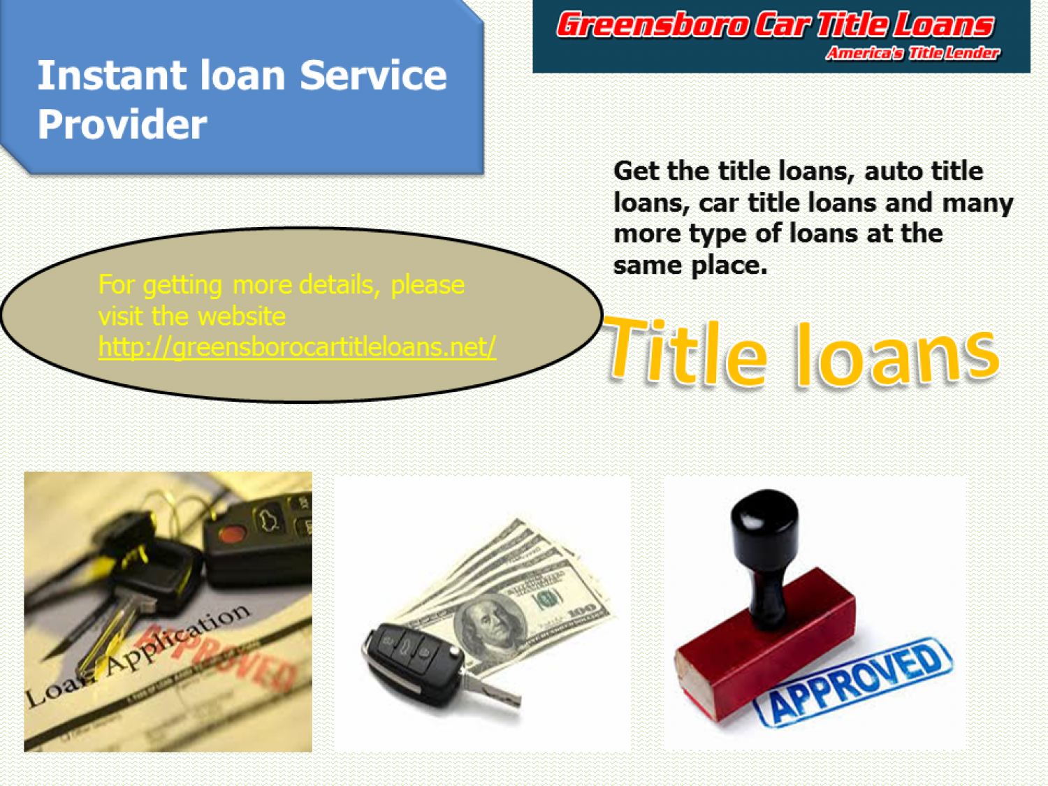 Are You Looking for Title Loans or Car Title Loans?