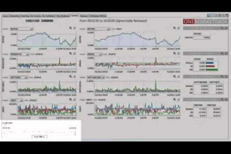 Interactive Dashboard: Real-Time FX Liquidity Monitoring & Analysis Infographic
