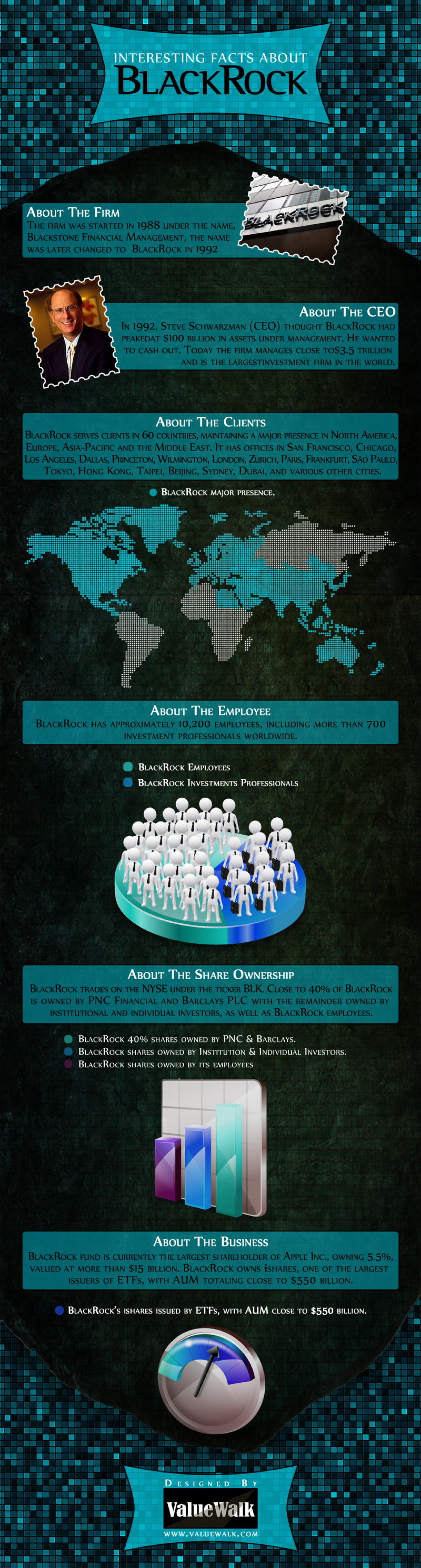 Interesting Facts About Black Rock Infographic