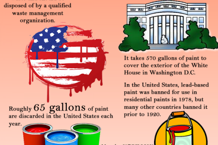 Interesting Facts about Paint Infographic