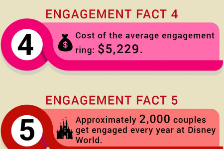 Interesting Facts about the Engagement Rings Infographic