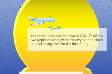 Interesting Facts About the Largest Carpet in the World Infographic