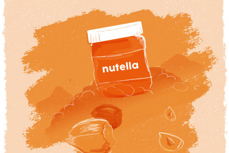 Interesting Food Facts: Nutella Infographic