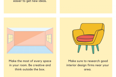 Interior Design tips for your Home Infographic