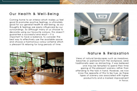 Interior designers that affect the mood Infographic