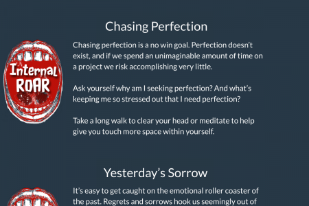 Internal Distractions Infographic