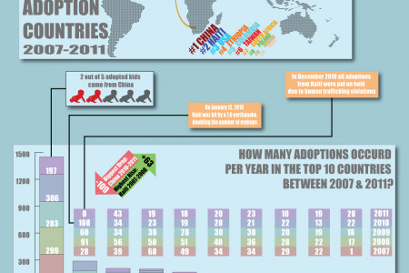 International Adoption in The Netherlands Infographic