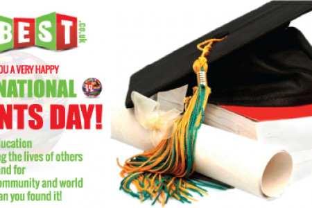 International Student Day with logo Design Best UK  Infographic