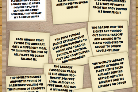 Intresting Facts about Airports & Air Travel Infographic