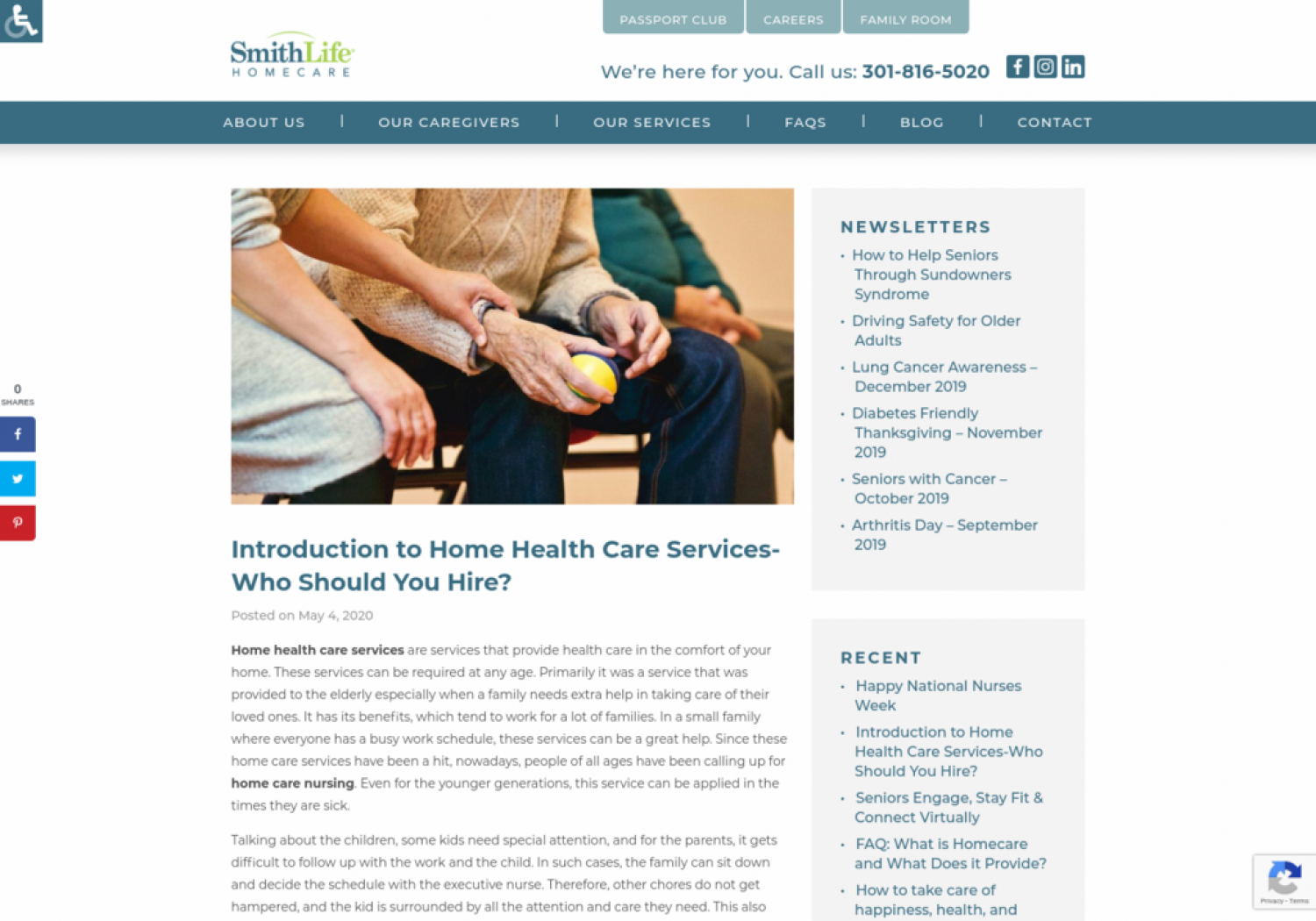 Introduction to Home Health Care Services-Who Should You Hire? Infographic