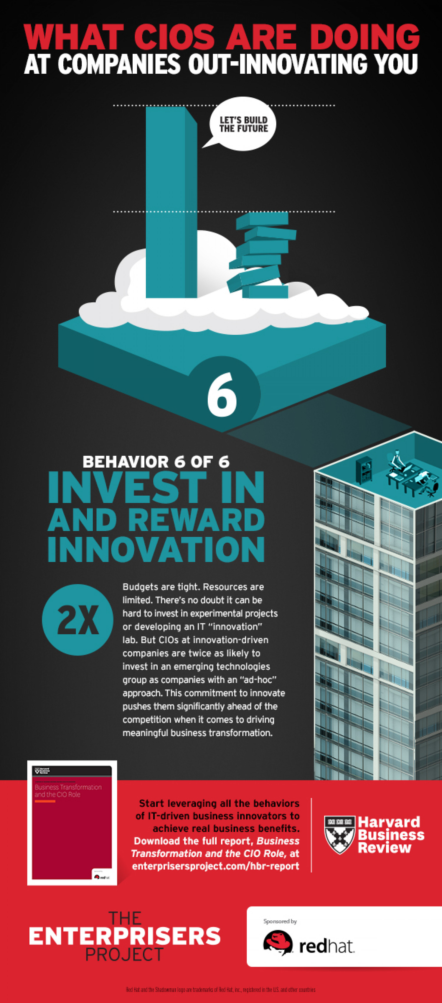 Invest in and Reward Innovation Infographic