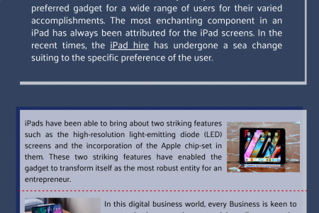Ipad Hire DubaiBecomes Trend-Setter For Business Towards Their Engagements Infographic