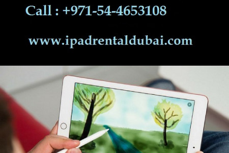 iPad Rental for Conferences in Dubai Infographic