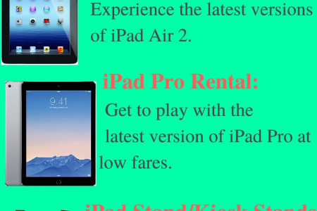 iPad Rental from Techno Edge Systems L.L.C Infographic