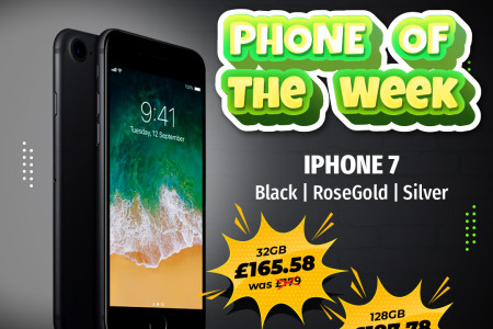 iPhone 7 - Phone of the week at Qwikfone Infographic