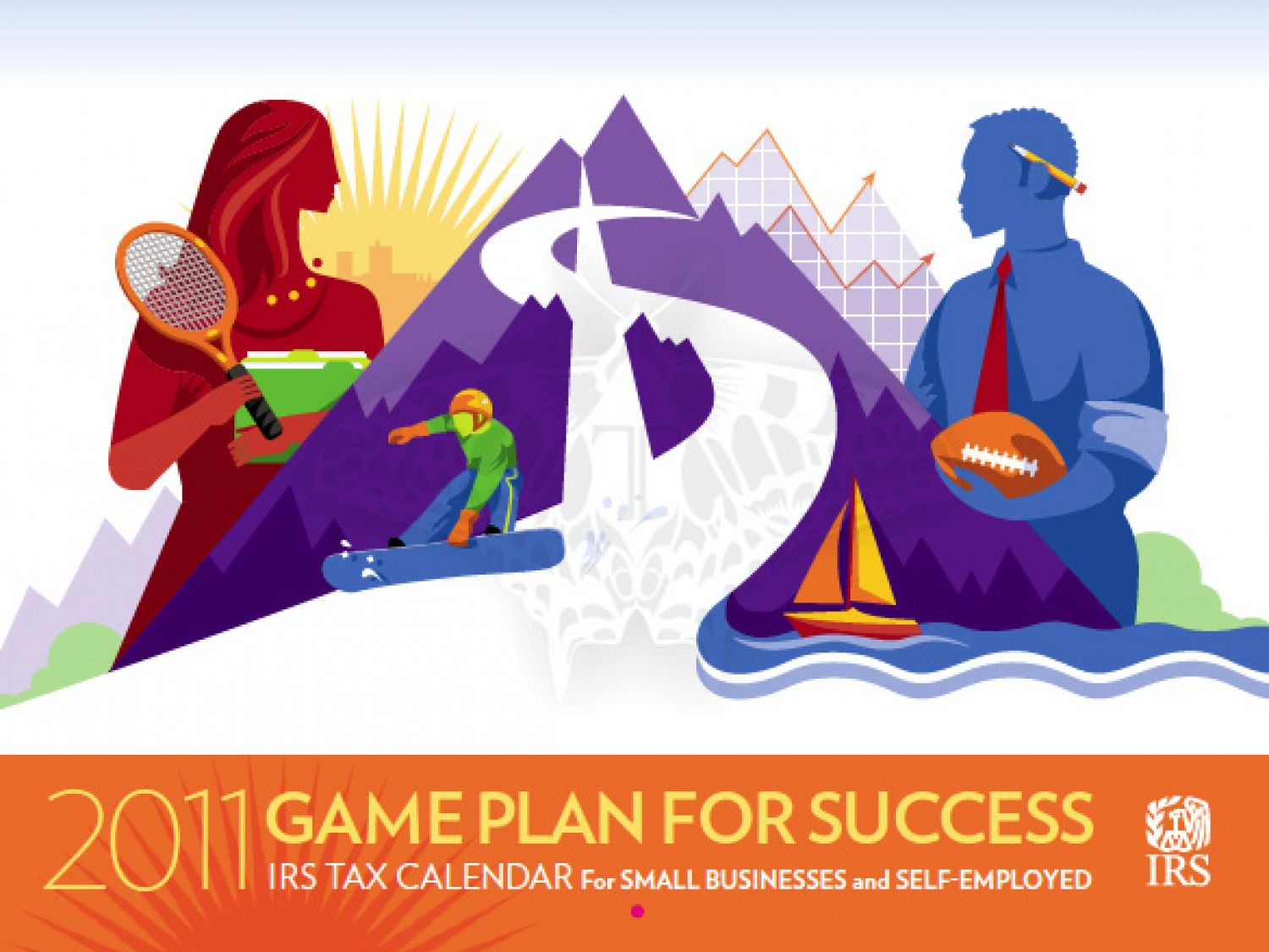 IRS small business calendar Infographic