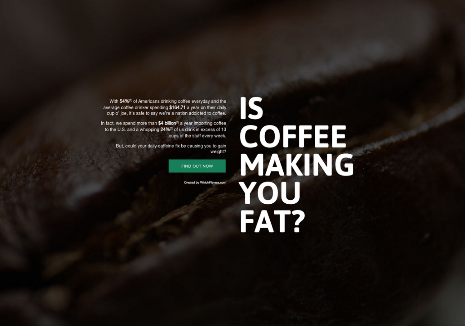Is Coffee Making You Fat? Infographic