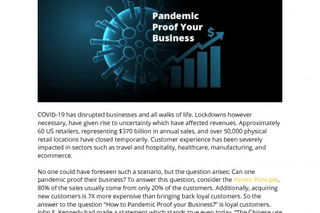 Is It Possible to 'Pandemic Proof' Your Business?   Infographic
