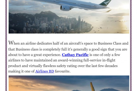 Is it still safe to fly Cathay Pacific? Infographic
