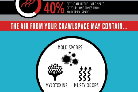 Is Your Crawlspace Contaminating Your Indoor Air? Infographic