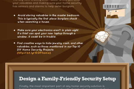 Is Your New Home Security Army Ready to Defend Your Castle? Infographic