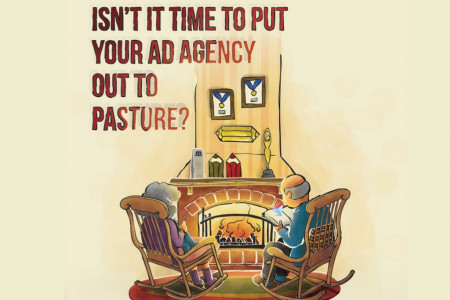 Isn't It Time to Put Your Ad Agency Out To Pasture? Infographic