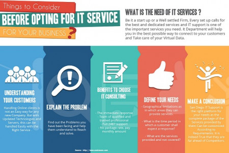 IT Consulting San Diego Infographic