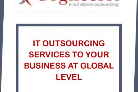 IT OUTSOURCING SERVICES TO YOUR BUSINESS AT GLOBAL LEVEL Infographic