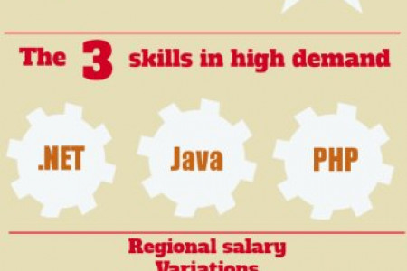IT Salaries rise by 0.4% in 2013 Infographic