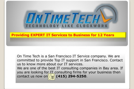 IT Support Services in Bay Area, San Francisco Infographic