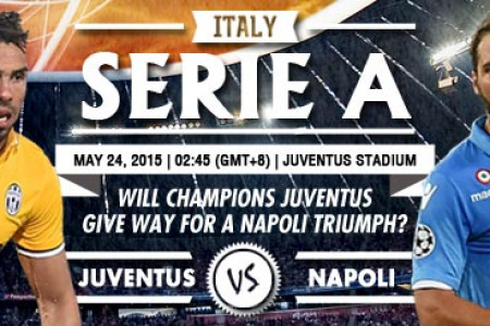 Italy Serie A - Juventus vs Napoli Infographic