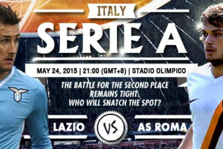 Italy Serie A - Lazio vs AS Roma Infographic