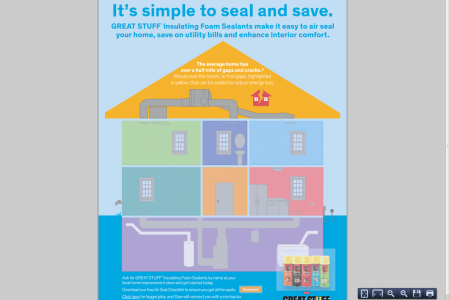It's simple to seal and save Infographic