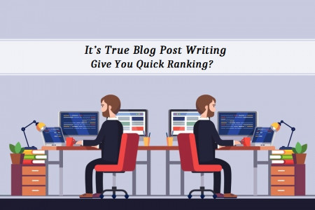 It's True Blog Post Writing Give You Quick Ranking?  Infographic