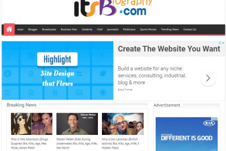 ItsBiography - Wiki, Biography, Net worth, of Known People Infographic