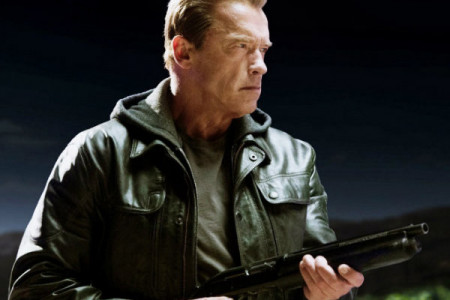 Jacket of Arnold Schwarzenegger from Terminator Genisys Infographic