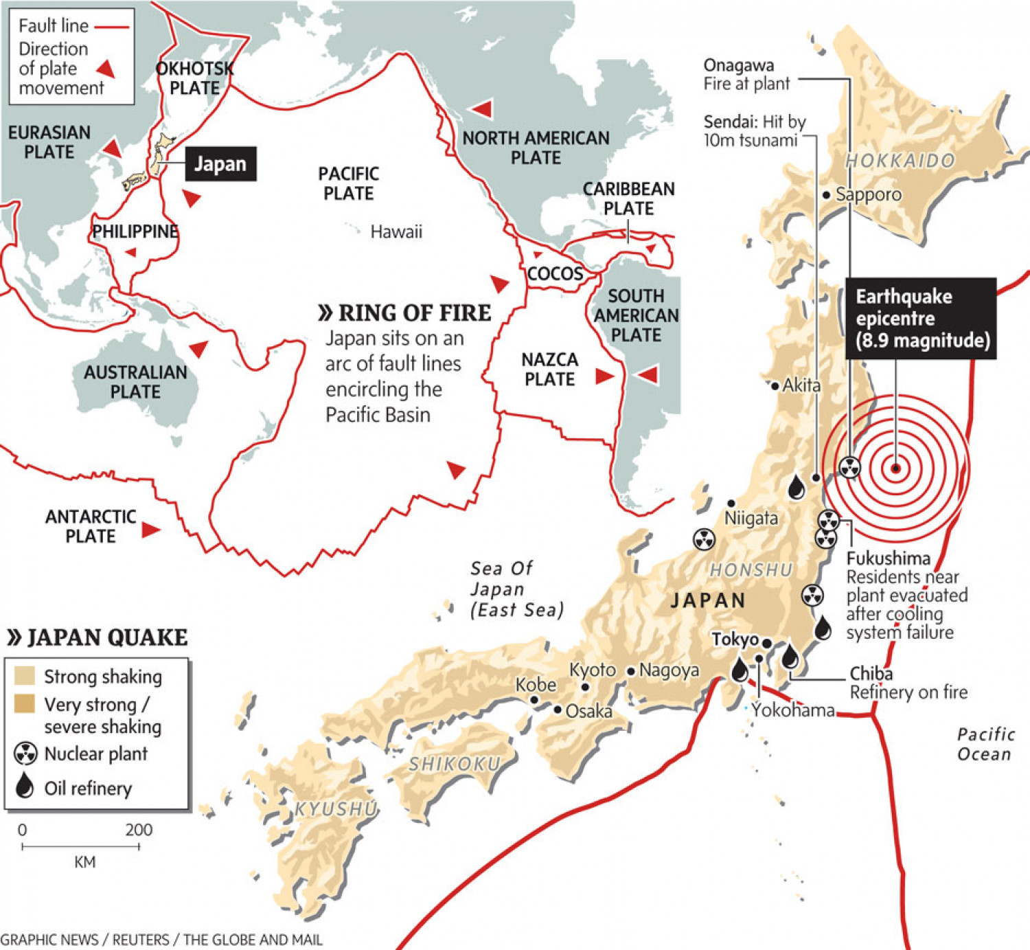 japan tsunami debris map with Japan Sits Atop Deadliest Section Of Ring Of Fire on Fukushima Daiichi Reactors also Debris Mar 2011 2012 also 26 moreover Geologichistory chapelhill hillsborough durham as well Honshu20110311.