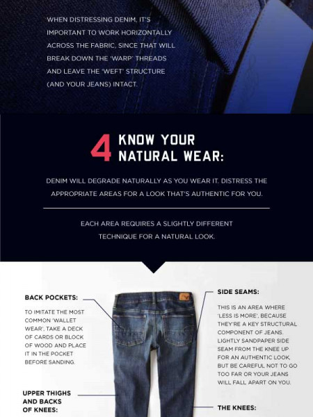 Jean Hacks for Wear, Tear, and Care Infographic