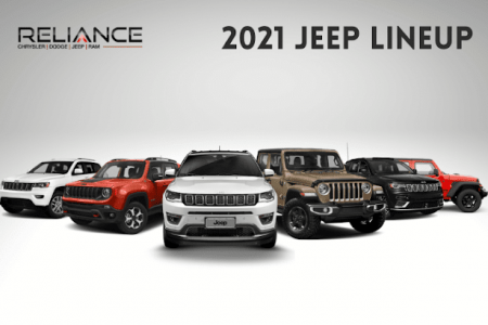 Jeep Lineup 2021 Infographic