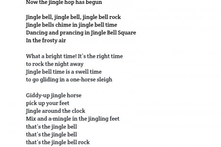 jingle bell rock Infographic