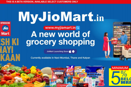 JioMart: Buy Grocery Online   A Revolution in Indian E-Commerce System Infographic