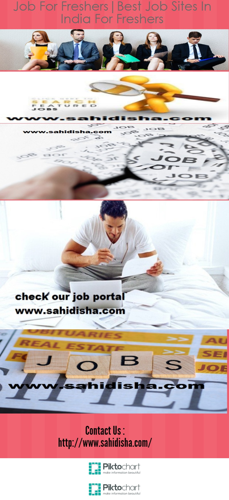 job for freshers best job sites in for freshers visual ly