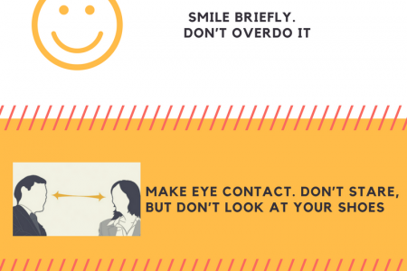 Job Interview Tips | how to introduce yourself at a job interview-JobRino Infographic