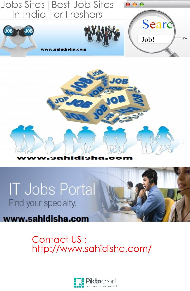 jobs sites best job sites in for freshers visual ly
