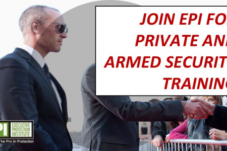 Join EPI for private and armed security training Infographic